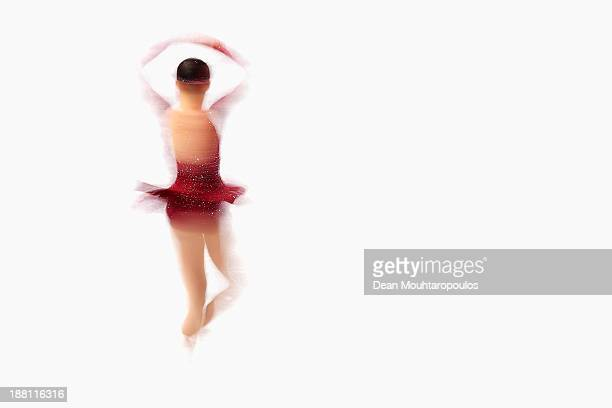 Christina Gao of the USA performs in the Ladies Short Program during day one of Trophee Eric Bompard ISU Grand Prix of Figure Skating 2013/2014 at...