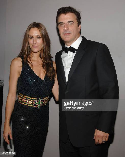 Christina Greevan Cuomo and Chris Noth attend the Nina Ricci After Party For Met Ball Hosted By Olivier Theyskens and Lauren Santo Domingo at...