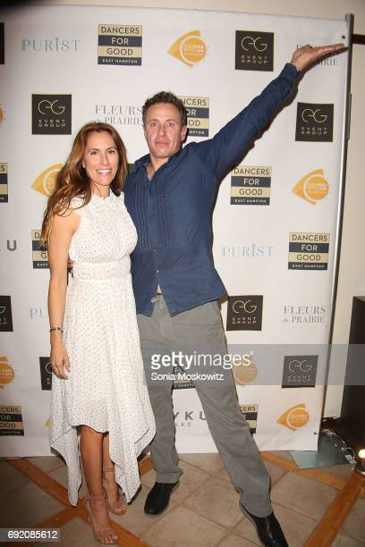 Christina Greeven Cuomo and Chris Cuomo attend the 2017 Dancers for Good Benefit at the Ross School Court Theater on June 3, 2017 in East Hampton,...