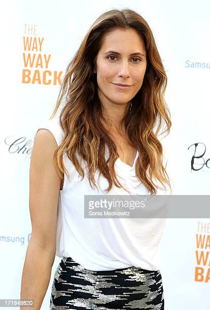 "Christina Greeven Cuomo attends the after party for a special Hamptons screening of ""The Way,Way Back"" at Goose Creek on June 29, 2013 in East..."
