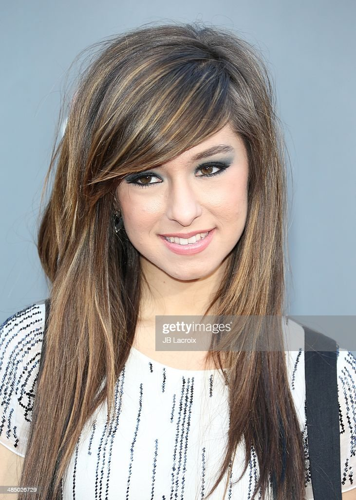 Christina Grimmie attends 'The Voice' Season 6 Top 12 Red