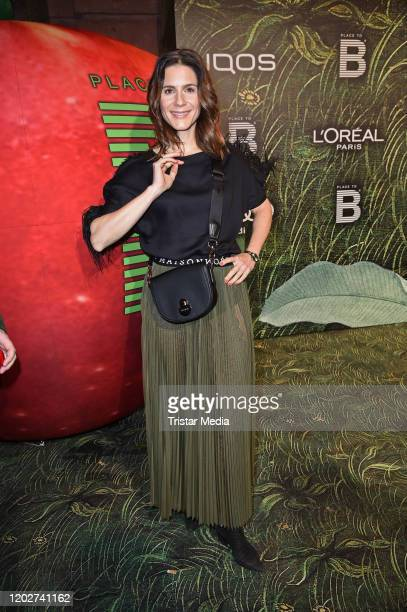 Christina Hecke attends Place To B Berlinale Party during the 70th Berlinale International Film Festival Berlin at Borchardt Restaurant on February...