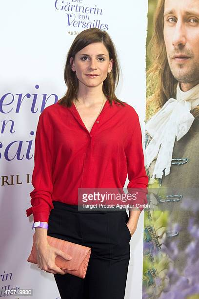Christina Hecke attends the German premiere for the film 'A Little Chaos' at Kino in der Kulturbrauerei on April 22 2015 in Berlin Germany