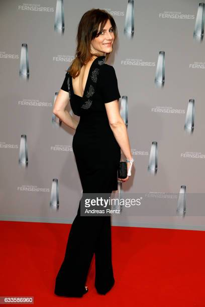 Christina Hecke attends the German Television Award at Rheinterrasse on February 2 2017 in Duesseldorf Germany