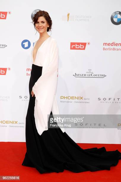 Christina Hecke attends the Lola German Film Award red carpet at Messe Berlin on April 27 2018 in Berlin Germany