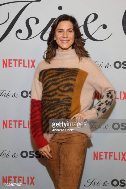Christina Hecke attends the premiere of the Netflix film Isi Ossi at Filmtheater am Friedrichshain on February 11 2020 in Berlin Germany