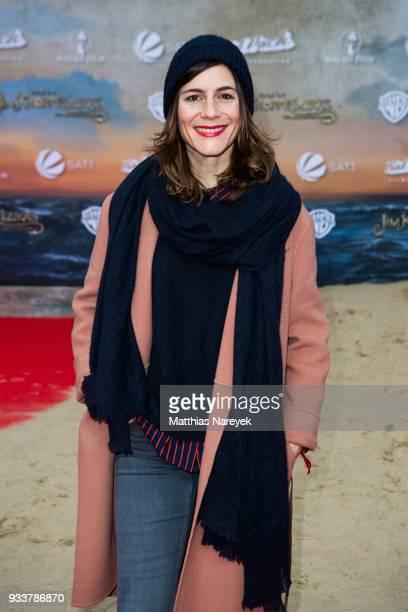 Christina Hecke attends the world premiere of 'Jim Knopf und Lukas der Lokomotivfuehrer' at CineStar on March 18 2018 in Berlin Germany