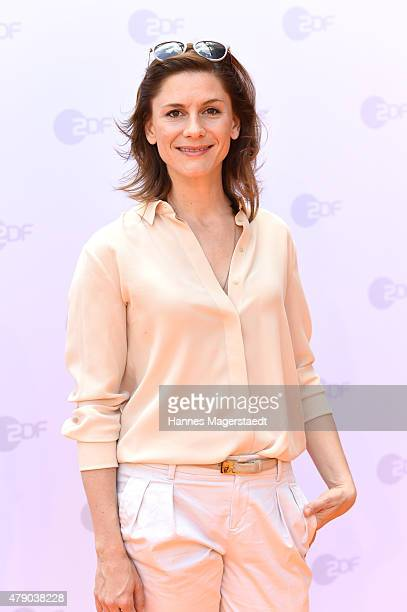Christina Hecke attends the ZDF reception during the Munich Film Festival at Hugo's on June 30 2015 in Munich Germany