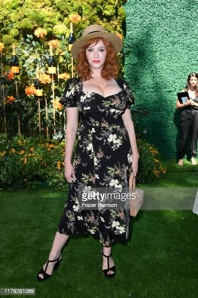 Christina Hendricks 10th Annual Veuve Clicquot Polo Classic Los Angeles at Will Rogers State Historic Park on October 05 2019 in Pacific Palisades...