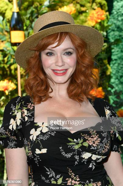 Christina Hendricks 10th Annual Veuve Clicquot Polo Classic Los Angeles at Will Rogers State Historic Park on October 05, 2019 in Pacific Palisades,...