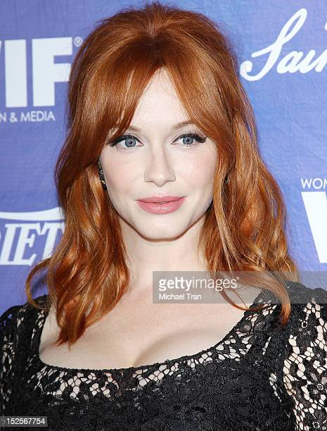 Christina Hendricks arrives at the Variety and Women in Film PreEmmy event held at Scarpetta on September 21 2012 in Beverly Hills California