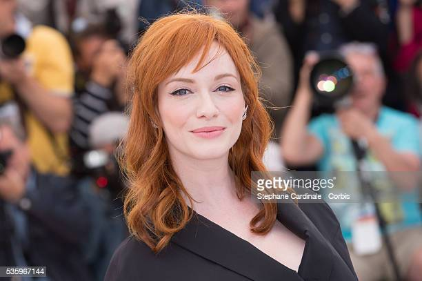 Christina Hendricks at the 'Lost River' photocall during the 67th Cannes Film Festival