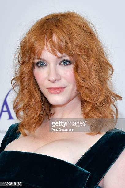Christina Hendricks attends the 44th Annual Gracies Awards, hosted by The Alliance for Women in Media Foundation at the Beverly Wilshire Four Seasons...