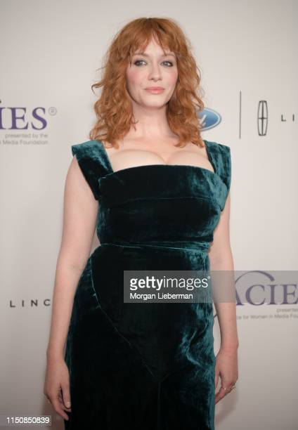Christina Hendricks attends The Alliance For Women In Media Foundation's 44th Annual Gracie Awards at the Beverly Wilshire Four Seasons Hotel on May...