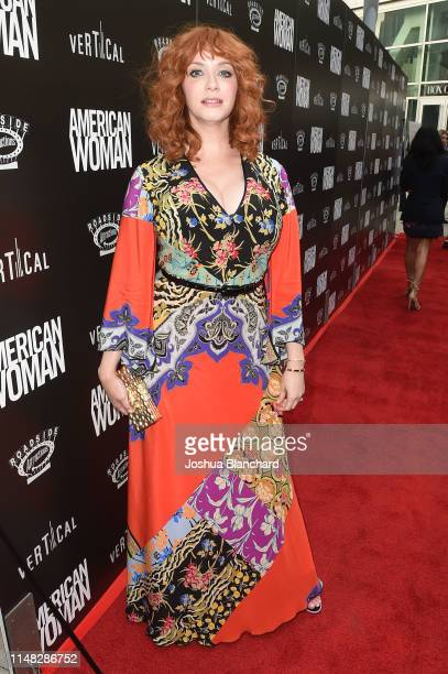 Christina Hendricks attends the Los Angeles Premiere of American Woman on June 5 2019 in Los Angeles California