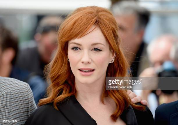 Christina Hendricks attends the Lost River photocall during the 67th Annual Cannes Film Festival on May 20 2014 in Cannes France