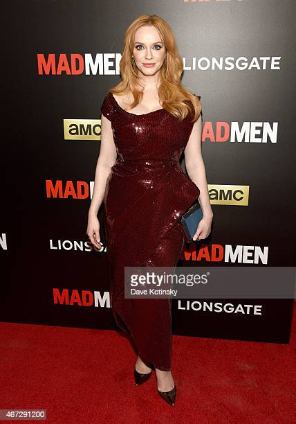 Christina Hendricks attends the Mad Men New York Special Screening at The Museum of Modern Art on March 22 2015 in New York City