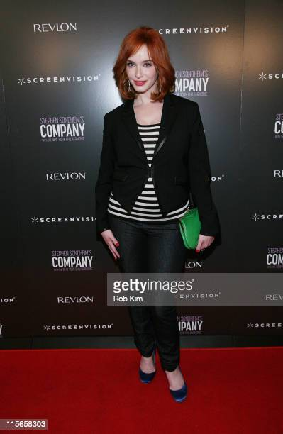 """Christina Hendricks attends the New York premiere of """"Company"""" at NYIT Auditorium on June 8, 2011 in New York City."""