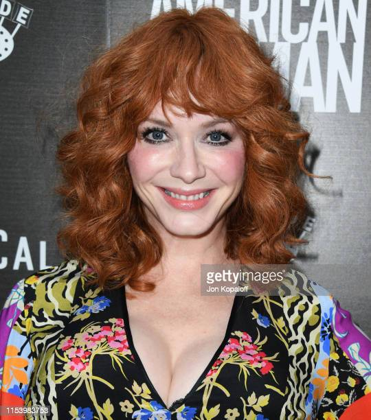 Christina Hendricks attends the Premiere Of Roadside Attraction's American Woman at ArcLight Hollywood on June 05 2019 in Hollywood California