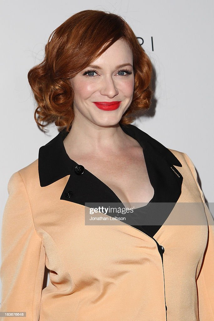 Christina Hendricks attends the Tacori's Annual Club Tacori 2013 Event at Greystone Manor Supperclub on October 8, 2013 in West Hollywood, California.