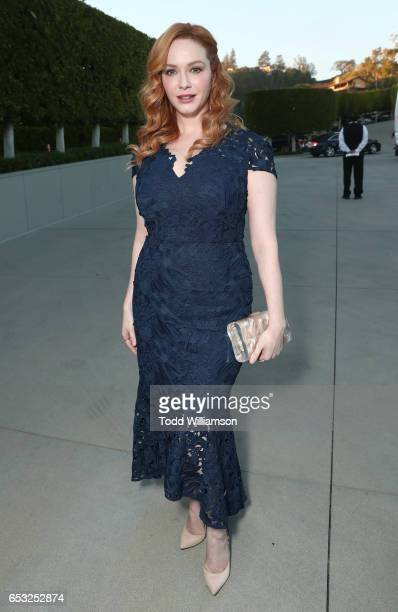 Christina Hendricks attends the UCLA Institute Of The Environment And Sustainability Celebrates Innovators For A Healthy Planet on March 13 2017 in...