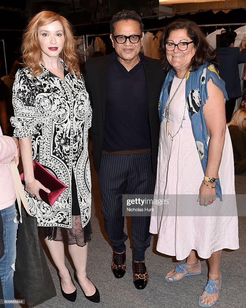 NY: Naeem Khan - Backstage - September 2016 - New York Fashion Week: The Shows