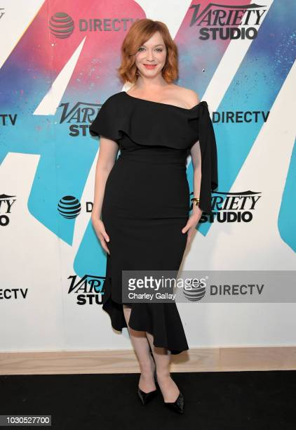 Christina Hendricks stops by DIRECTV House presented by ATT during Toronto International Film Festival 2018 at Momofuku Toronto on September 10 2018...