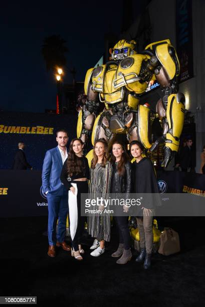 Christina Hodson attends Premiere Of Paramount Pictures' Bumblebee at TCL Chinese Theatre on December 09 2018 in Hollywood California