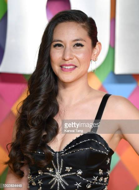 Christina Hodson attends the Birds of Prey And the Fantabulous Emancipation Of One Harley Quinn World Premiere at the BFI IMAX on January 29 2020 in...