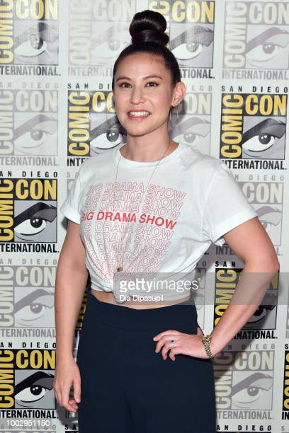 Christina Hodson attends the 'Bumblebee' Press Line during ComicCon International 2018 at Hilton Bayfront on July 20 2018 in San Diego California