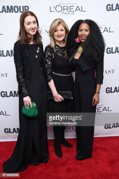Christina Huffington and Arianna Huffington attend Glamour's 2017 Women of The Year Awards at Kings Theatre on November 13 2017 in Brooklyn New York