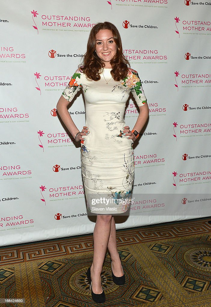 Christina Huffington, Arianna Huffington's daughter attends the 2013 Outstanding Mother Awards at The Pierre Hotel on May 9, 2013 in New York City.
