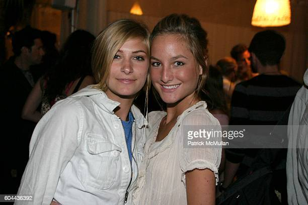 Christina Kelly and Heather Kemesky attend Armani Exchange Spring 2006 Runway Show and Launch of Armani Exchange Music Series Volume 7 Paradiso Eric...