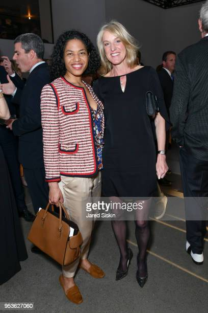 Christina Lewis and Marla Wofford attend Planned Parenthood Of New York City Spring Gala Honoring Cecile Richards And Laverne Cox at Spring Studios...