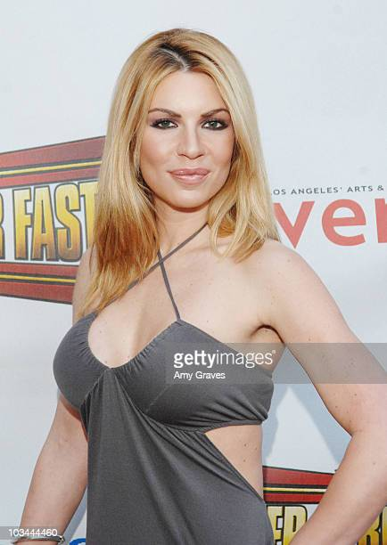 Christina Lindley arrives at the Premiere of Bigger Stronger Faster at The Egyptian Theater on May 27 2008 in Los Angeles California