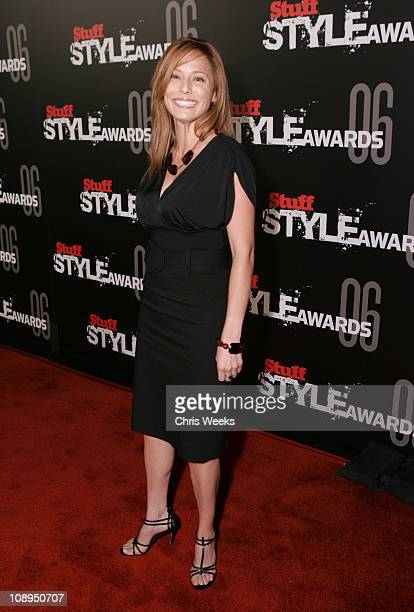 Christina Lindley during Stuff Magazine Hosts The Stuff Style Awards - Red Carpet at Arclight in Los Angeles, California, United States.