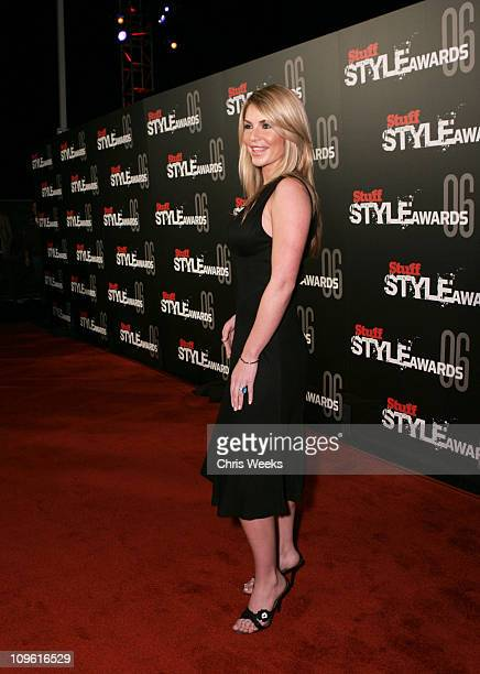 Christina Lindley during Stuff Magazine Hosts The Stuff Style Awards Red Carpet at Arclight in Los Angeles California United States