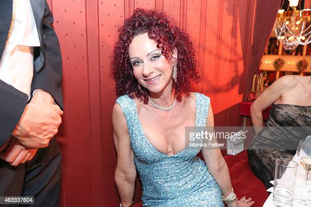 Christina Lugner attends the traditional Opera Ball Vienna at State Opera Vienna on February 12 2015 in Vienna Austria