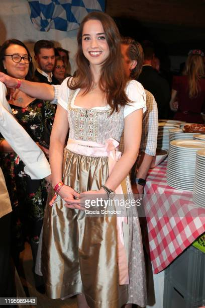 Christina Maria Aurelia Schwarzenegger daughter of Arnold Schwarzenegger during the 29th Weisswurstparty at Hotel Stanglwirt on January 24 2020 in...