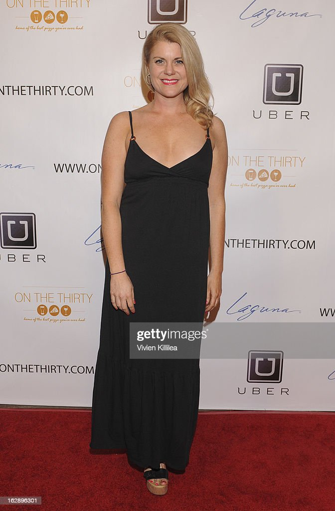 Christina Maria Davis attends 'On The Thirty' Grand Opening at On The Thirty on February 28, 2013 in Sherman Oaks, California.