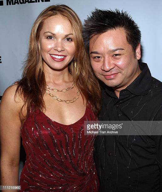 Christina Martin and Rex Lee during Third Annual Winter N' LA Holiday Bash at Camden House in Beverly Hills, California, United States.