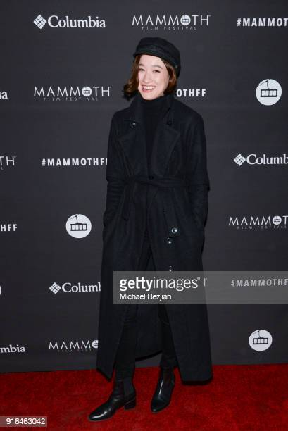 Christina Masterson arrives at the premiere of Truth or Dare at Inaugural Mammoth Film Festival Day 2 on Feburary 9 2018 in Mammoth Lakes California