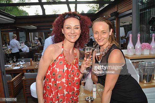 Christina Mausi Lugner attends the 'Eine Nacht unter Elfen' Fashion Show at Klee am Hanslteich on June 20 2013 in Vienna Austria