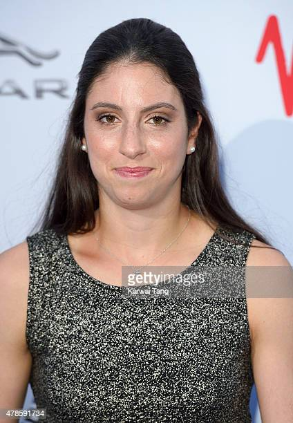Christina McHale attends the WTA PreWimbledon Party at Kensington Roof Gardens on June 25 2015 in London England