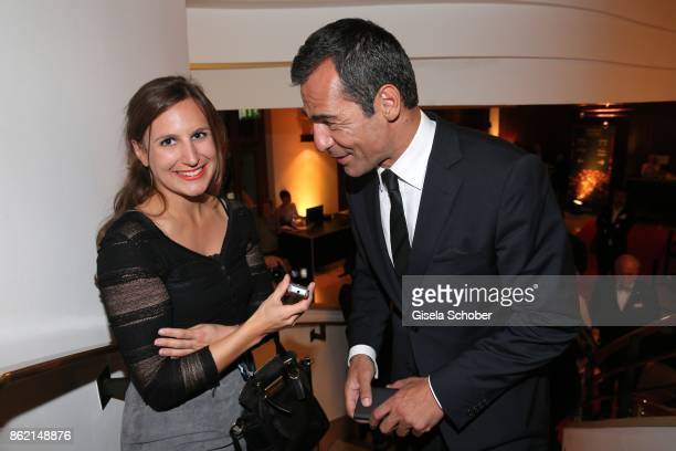 Christina Mendi Frau aktuell and Erol Sander during the 2oth 'Busche Gala' at The Charles Hotel on October 16 2017 in Munich Germany