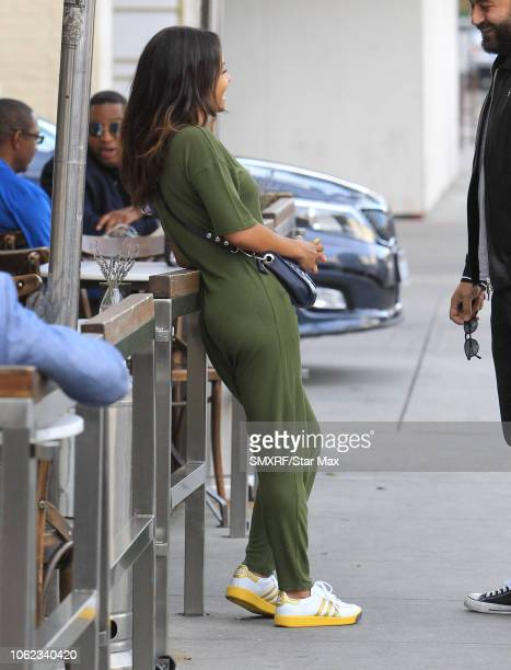 Christina Milian and M Pokora are seen on November 15 2018 in Los Angeles CA