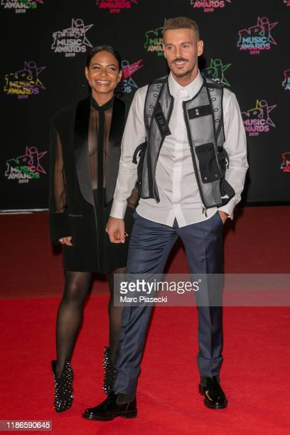 Christina Milian and Matt Pokora attend the 21st NRJ Music Awards At Palais des Festivals on November 09 2019 in Cannes France