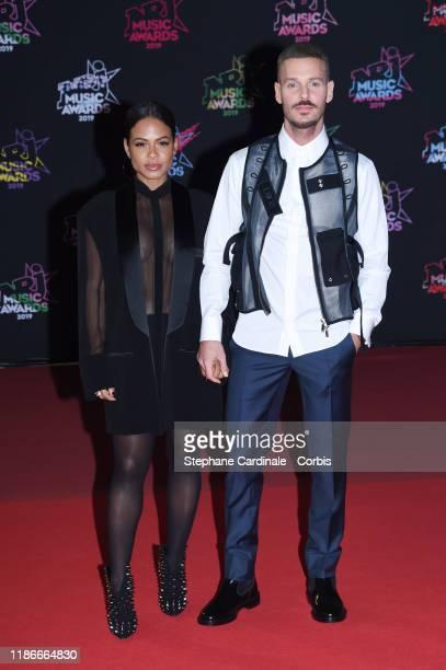Christina Milian and Matt Pokora attend the 21st NRJ Music Awards At Palais des Festivals on November 09 2019 in Cannes France