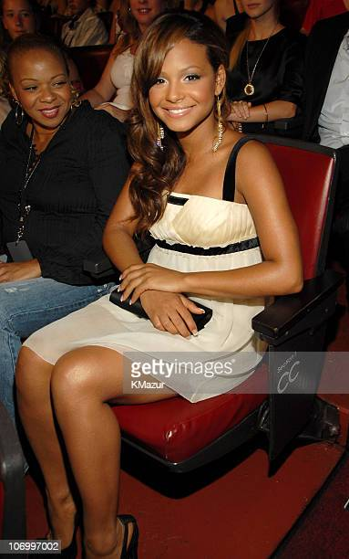 Christina Milian and mother Carmen *EXCLUSIVE*
