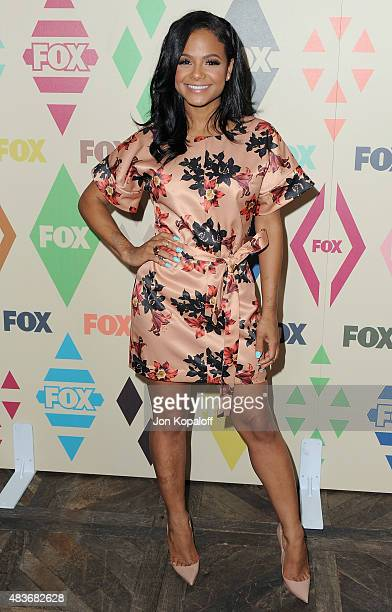 Christina Milian arrives at the 2015 Summer TCA Tour FOX AllStar Party at Soho House on August 6 2015 in West Hollywood California